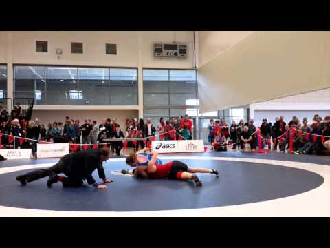 2015 Senior National Championships: 69 kg Cassidy Barnert vs. Dorothy Yeats