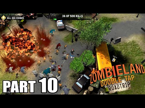 ゾンビランド Zombieland: Double Tap - Road Trip Walkthrough Gameplay Part 10 - Quantity is Job / PC |