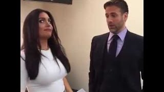 Molly Qerim Being Thick And Smoking With Max Kellerman