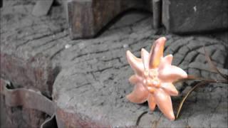 Herstellung Kupferkessel in Handarbeit