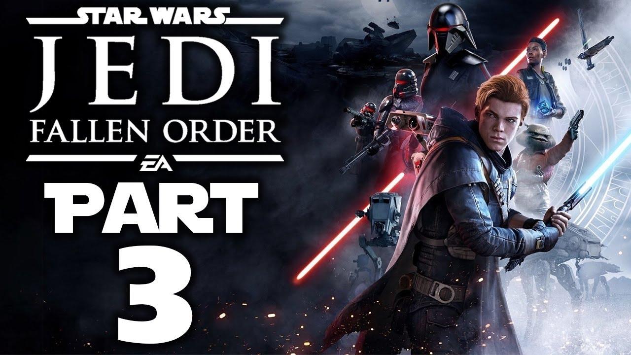 Star Wars Jedi Fallen Order Let S Play Part 3 Zeffo Youtube