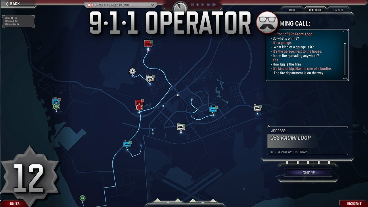 911 Operator Game ▬ #12 - Gameplay using the new DLC in Career ...