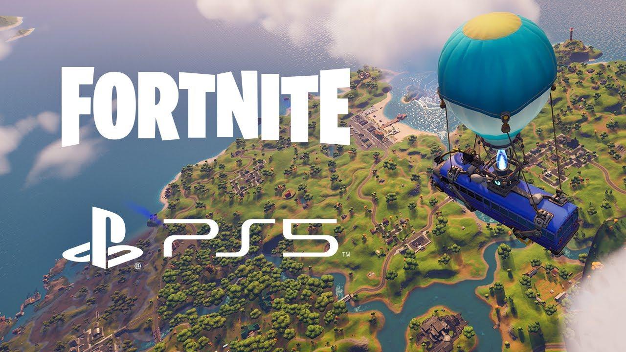 Premier aperçu de Fortnite sur PS5 avec UE4