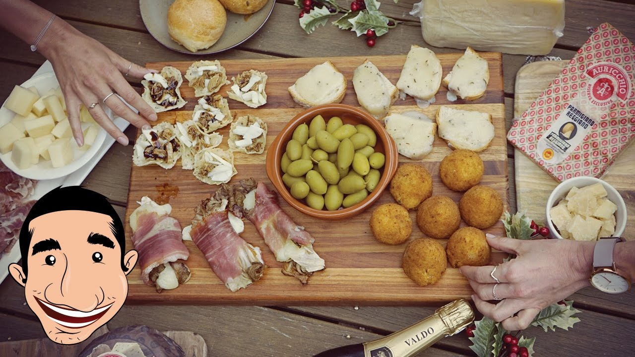 #Sponsored Special #Christmas oodBlog h  sc 1 st  YouTube & IRRESISTIBLE ITALIAN CHEESE PLATE | How to Make Perfect CHEESE ...