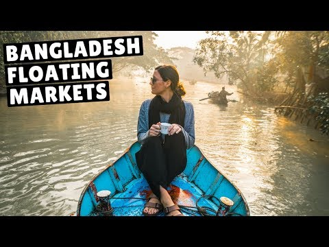 BANGLADESH IS SURPRISINGLY BEAUTIFUL! (incredible floating market)