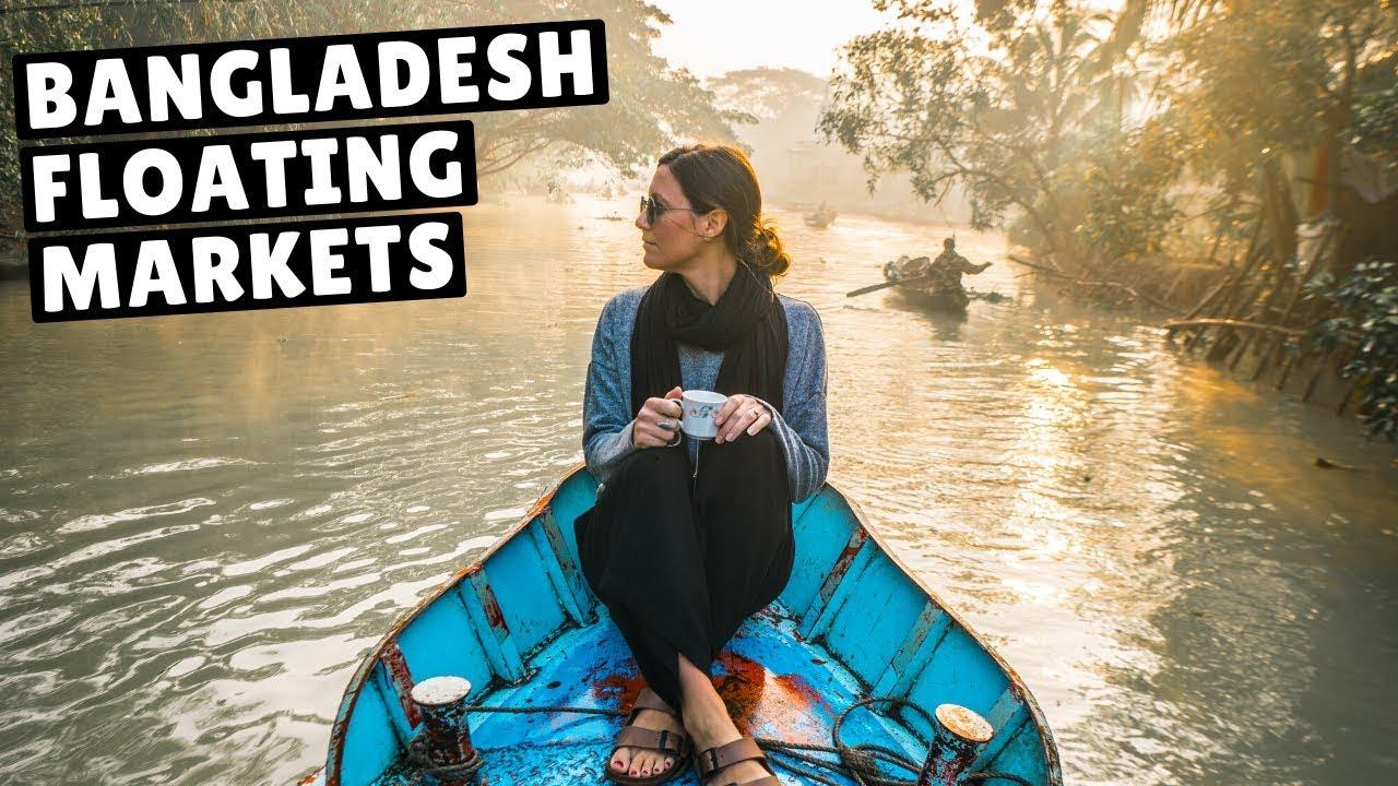 BANGLADESH IS SURPRISINGLY BEAUTIFUL! (incredible floating market)