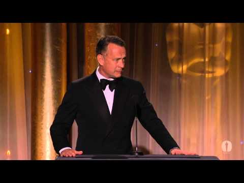 Tom Hanks honors Steve Martin at the 2013 Governors Awards