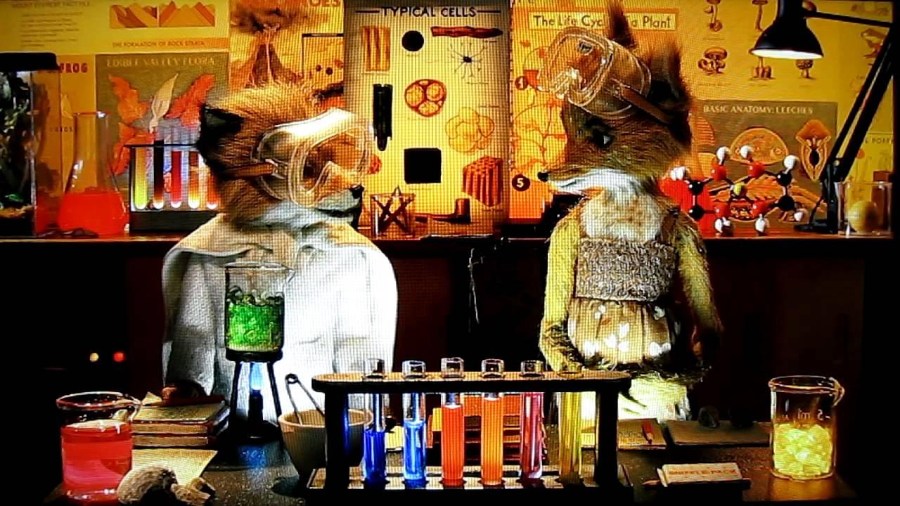 Fantastic Mr Fox Lab Partners Scene Youtube