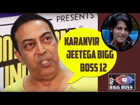 Vindu Dara Singh Thinks Karanvir Bohra Will Win Bigg Boss 12 Trophy | Telly Reporter Exclusive
