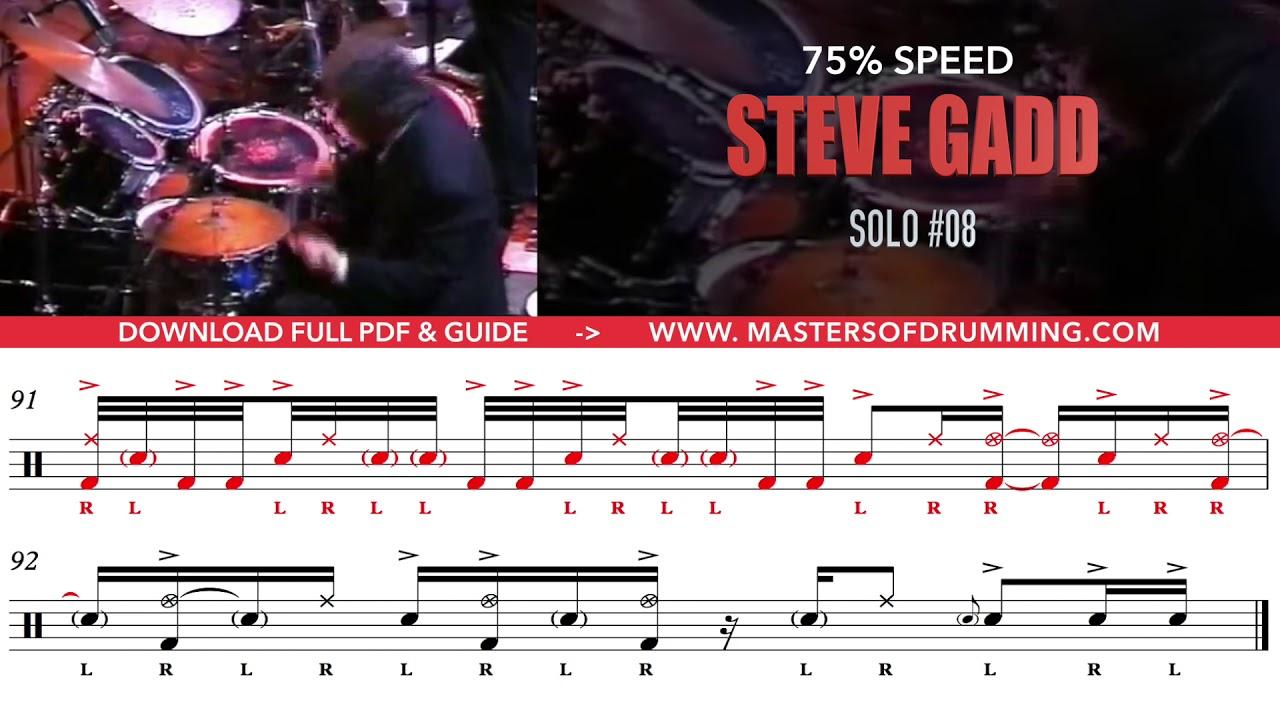 Steve Gadd Pdf