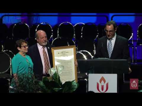 #403 Presentation Distinguished Service Award to Laurel Hallman at UUA General Assembly 2016