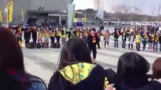 名古屋に続きまして3/16に仙台で行われた円陣の映像です! 3/18 名古屋...