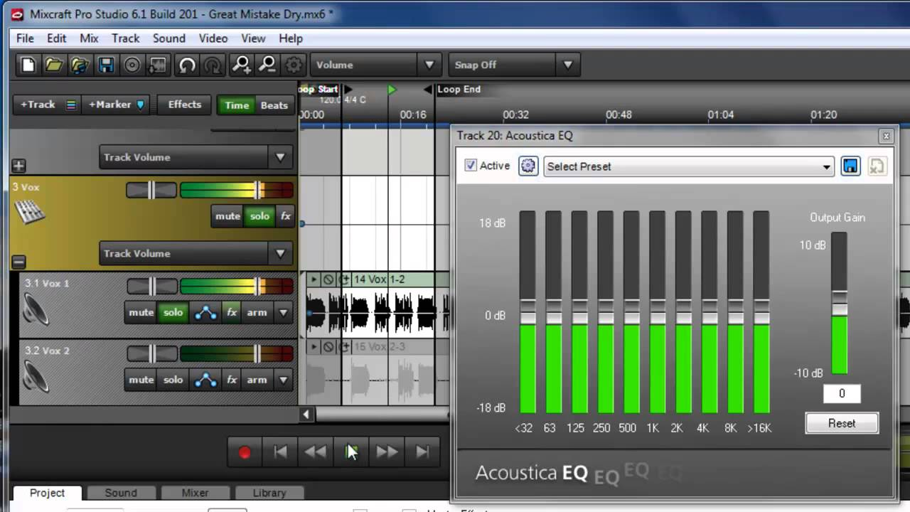 download mixcraft effects free