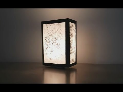 DIY Night lamp using Cardboard and Papers