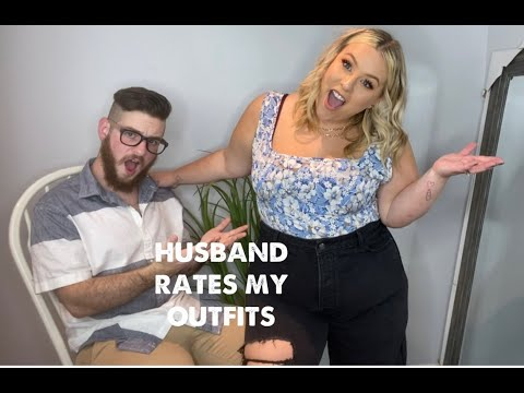 HUSBAND RATES MY PRETTYLITTLETHING OUTFITS| Plus Size|