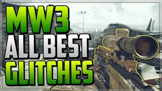 Mw3 All Best Working Glitches Infected Hidin Out Maps Knife Lunge Modern Warfare