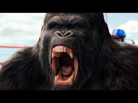 Gorilla Vs Helicopter Scene - Bridge Battle - Rise Of The Planet Of The Apes (2011) Movie Clip HD