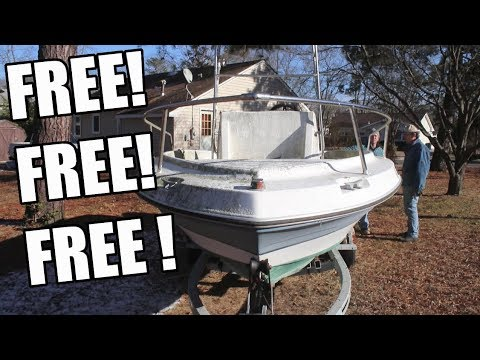 FREE BOAT 26' PACEMAKER!!! Should We Take It?!?!