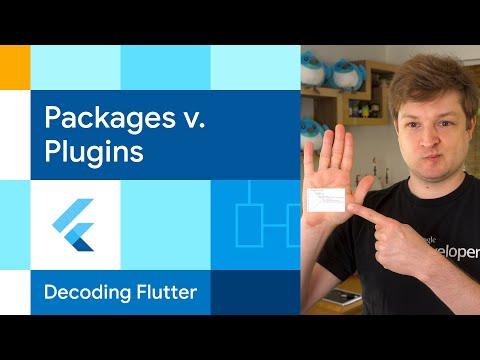 Packages versus Plugins?  | Decoding Flutter