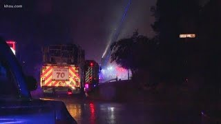 Lighting strikes spark house fires in north Harris County, official say