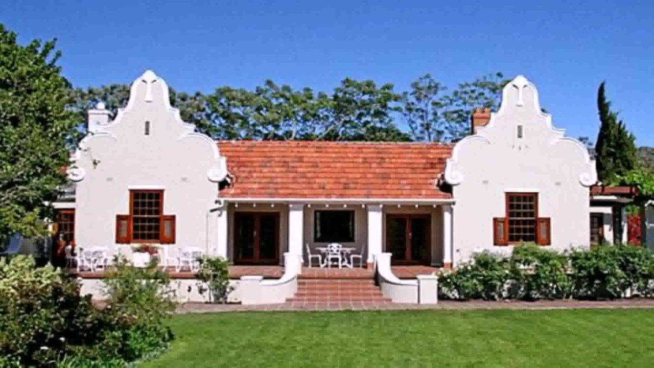 Colonial Style House Plans South Africa - YouTube