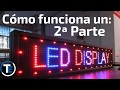 Cómo Funciona un Display LED (Matriz) 2