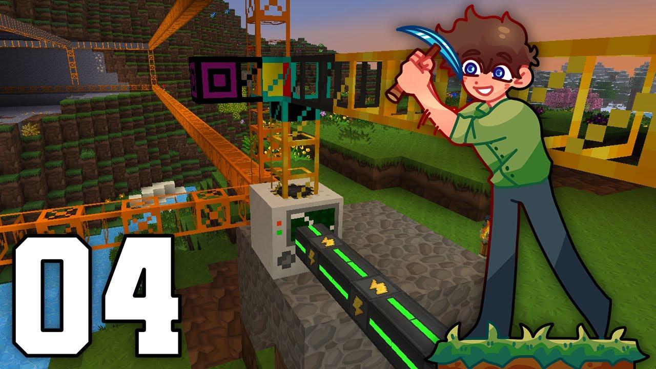 Minecraft - Big Dig #4: ITEMS IN DA PIPES