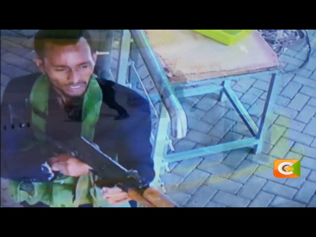 CCTV footage from Dusit Hotel shows attackers entering the premise