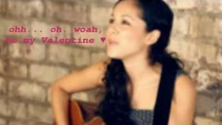 Valentine - Kina Grannis (Lyrics)