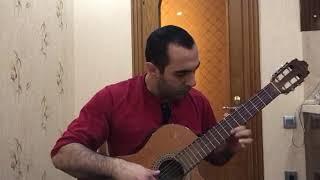 Çalıkuşu/Chalikushu / (Королёк птичка певчая на гитаре)