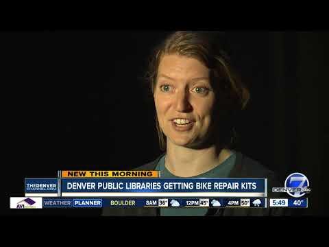 Bike repair kits coming to Denver libraries