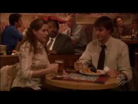 The Office (US) - Jim & Pam Highlights - 2.01 - The Dundies