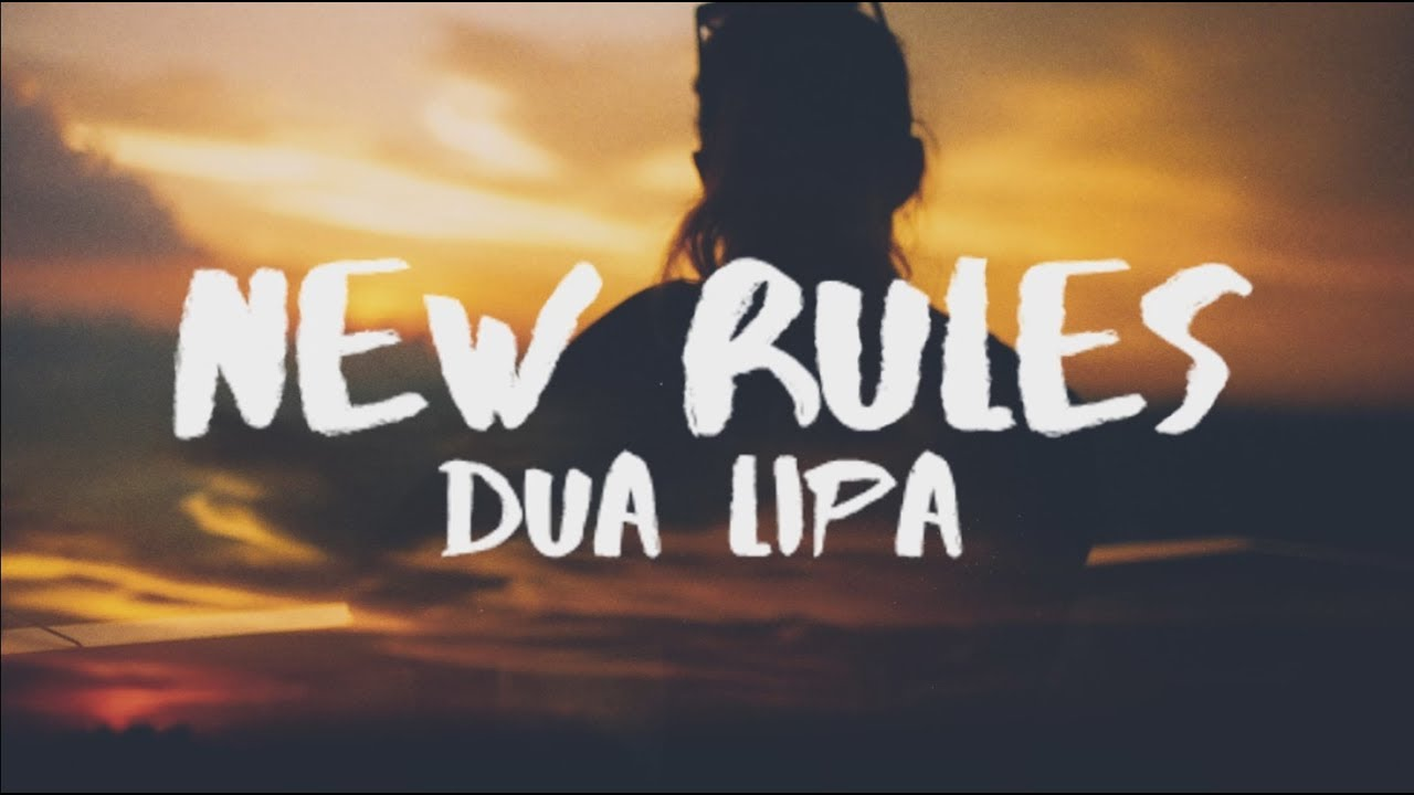 Dua lipa new rules lyrics lyric video youtube dua lipa new rules lyrics lyric video stopboris