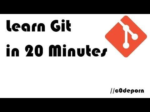 Learn Git In 20 Minutes