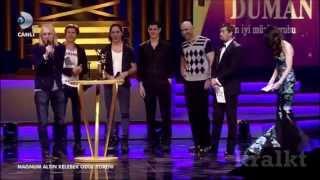 Duman@Altın Kelebek Ödül Töreni (22.06.2014)