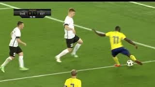 Höjdpunkter: Oavgjort för Sverige i årets första landskamp - TV4 Sport