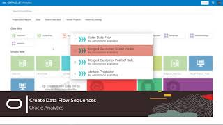 Creating Data Flow Sequences video thumbnail
