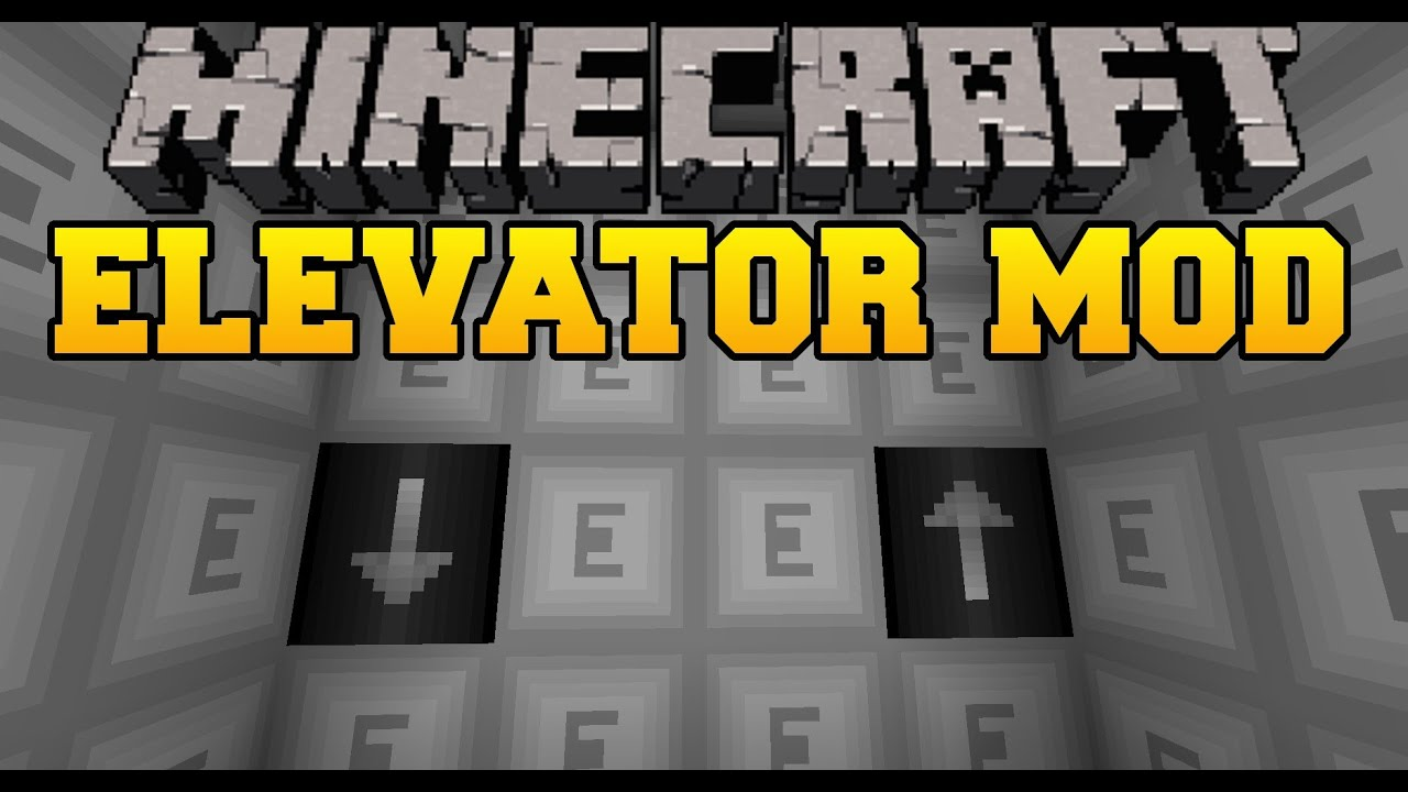 how to make a working elevator in minecraft no mods