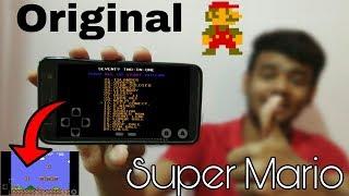 Super Mario ORIGINAL game for Android | Nintendo 1985s game mario bros download