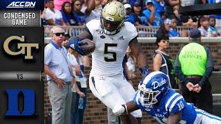 Georgia Tech vs. Duke Blue Condensed Game | ACC Football 2019-20