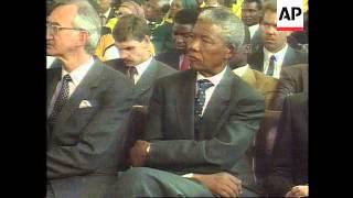 South Africa - Mandela,DeKlerk,Buthelezi In Church