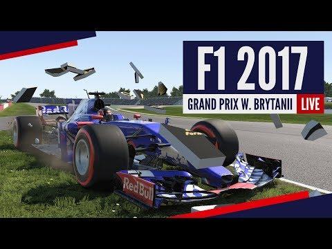 [RE-LIVE] F1 2017 - Kariera w Toro Rosso! Grand Prix - Wielkiej Brytanii!