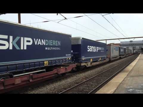 Hector rail cargo train in Odense, Denmark