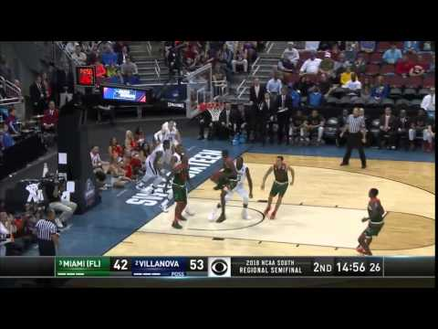 Villanova vs. Miami: Kris Jenkins block