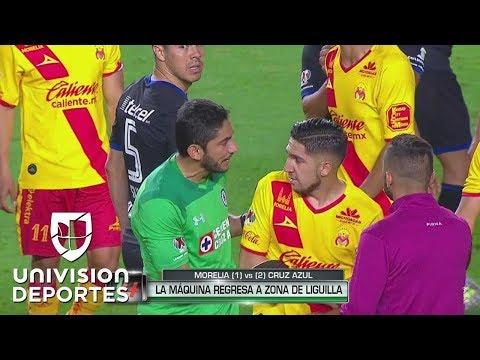 Jesús Corona perdió la cabeza en el partido contra Monarcas Morelia