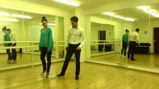 Свадебный танец самостоятельно  Движение 3