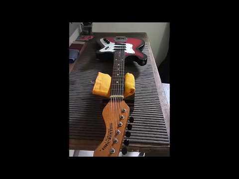 Guitarra Tonante - Manutenção R.A Luthieria