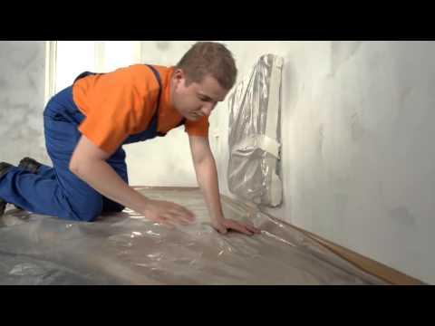 ТЕКС: Как красить стены в квартире