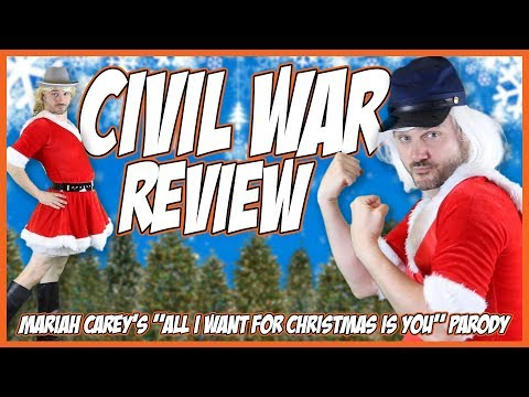 """Civil War Review Song & Contest Winner (Mariah Carey's """"All I Want For Christmas"""" Parody)"""