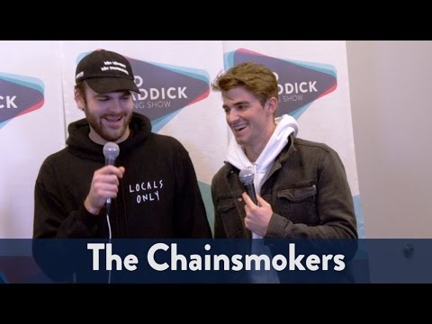 Backstage with The Chainsmokers at Jingle...